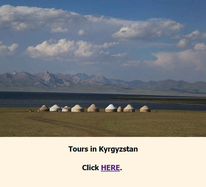 Tours in Kyrgyzstan